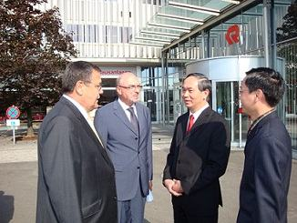 Visit by H.E General Dr. Prof. Tran Dai Quang, Minister of Public Security to Rosenbauer Group
