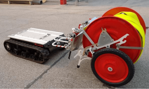 Robot chữa cháy với FOX+RM15