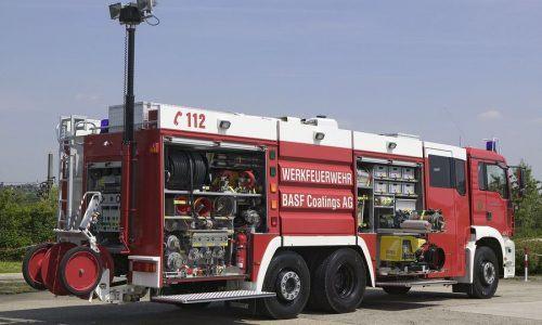 Xe chữa cháy công nghiệp thiết kế tùy biến