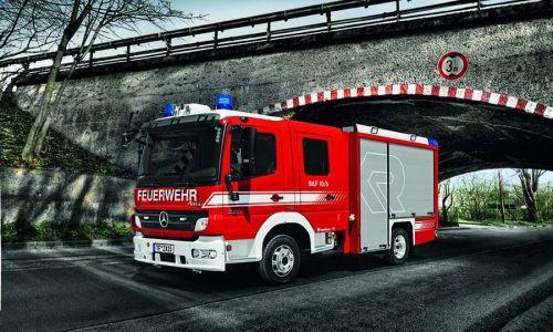 Xe chữa cháy thu gọn