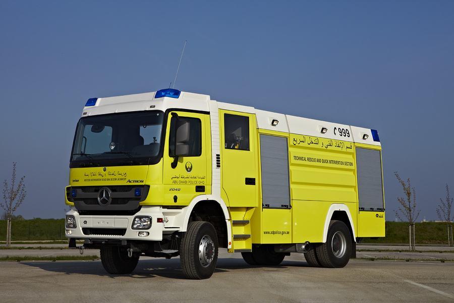 Xe chữa cháy đô thị thiết kế tùy biến6