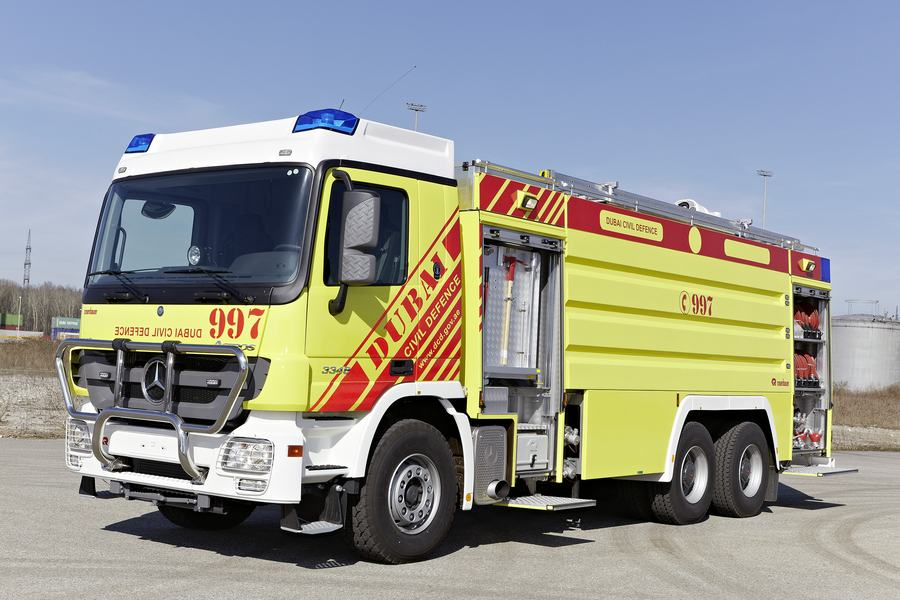 Xe chữa cháy đô thị thiết kế tùy biến5