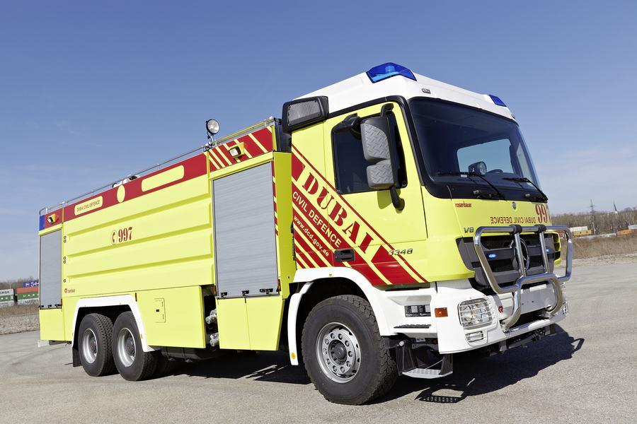 Xe chữa cháy đô thị thiết kế tùy biến3