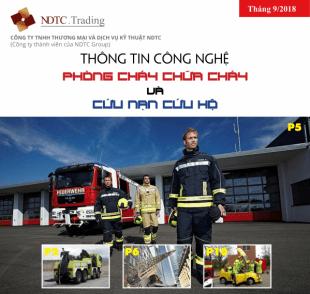 Thông tin Công nghệ PCCC & CNCH – Tháng 9/2018