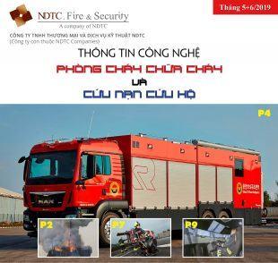 Thông tin Công nghệ PCCC & CNCH – Tháng 5+6/2019