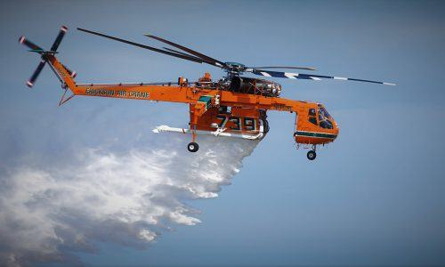 Firefighting and Rescue helicopters