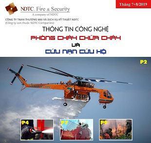 THÔNG TIN CÔNG NGHỆ PCCC & CNCH – THÁNG 7+8/2019