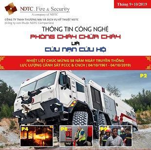 THÔNG TIN CÔNG NGHỆ PCCC & CNCH – THÁNG 9+10/2019