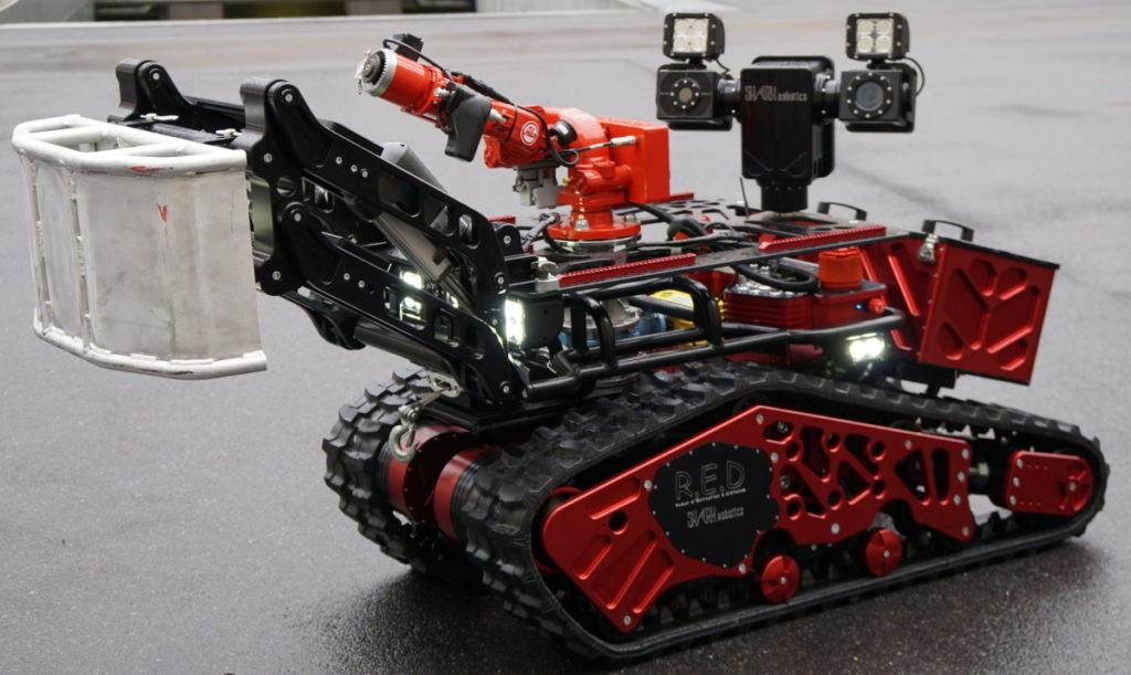 ROBOT CHỮA CHÁY – COLOSSUS2