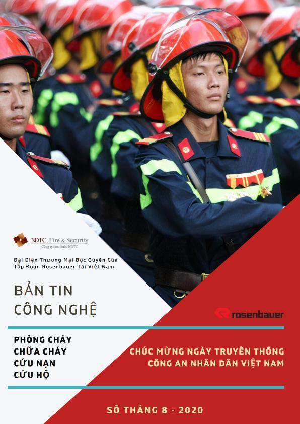 Thông tin Công nghệ PCCC & CNCH số tháng 8/2020