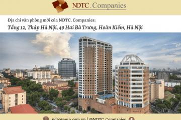 Thông báo chuyển địa điểm Văn phòng Công ty
