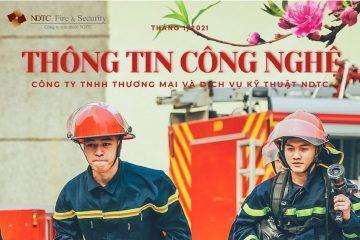 THÔNG TIN CÔNG NGHỆ PCCC & CNCH SỐ THÁNG 1/2021