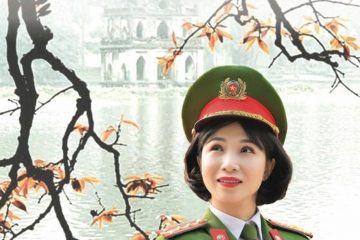 Nữ cảnh sát Hà Nội: Đam mê hơn cả một nghề