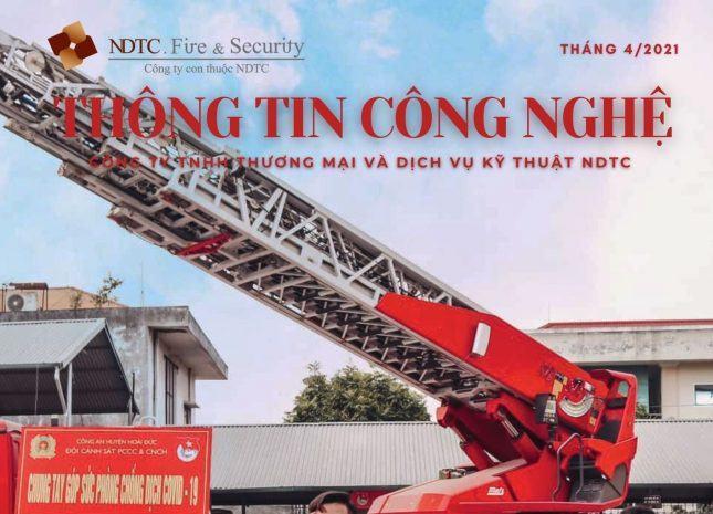 THÔNG TIN CÔNG NGHỆ PCCC & CNCH SỐ THÁNG 4/2021