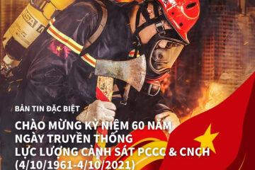 THÔNG TIN CÔNG NGHỆ PCCC & CNCH SỐ THÁNG 10/2021